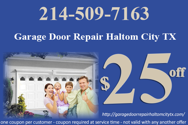 Garage Door Repair Haltom City TX Coupon