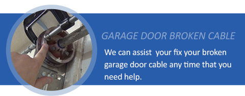 Broken Cables Garage Door Repair Haltom City TX