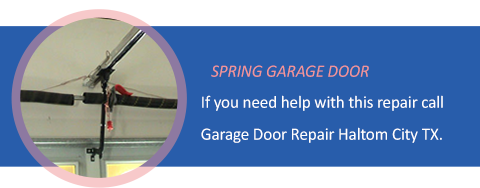 Spring Garage Door Repair Haltom City TX